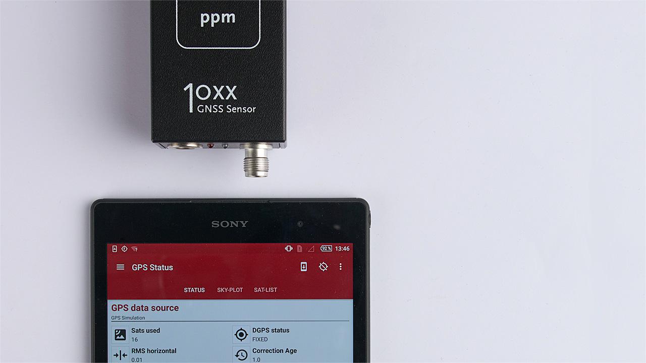 Externer 10xx GNSS Sensor
